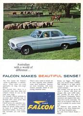 1960 XK Ford Falcon Sedan Aussie Original Magazine Advertisement (Darren Marlow) Tags: 1 6 9 19 60 1960 xk x k f ford falcon s sedan c car cool collectible collectors classic a automobile v vehicle aussie australian austrlia 60s
