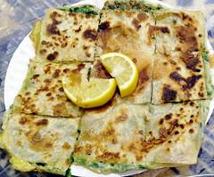Yemeni Murtabak (earthdrifting) Tags: yemeni murtabak folded food pancake dough crepe cuisine