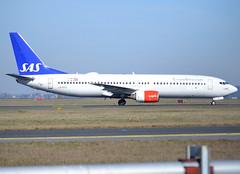 "LN-RPO, winglet-less Boeing 737- 883, 30467 / 634, SAS Scandinavian Airlines, ""Thorleif Viking"", CDG/LFPG 2019-02-17, taxiway Delta. (alaindurandpatrick) Tags: 30467634 lnrpo 737 738 737800 boeing boeing737 boeing737800 boeing737nextgen 737nextgen jetliners airliners sk sas scandinavian sasscandinavianairlines airlines cdg lfpg parisroissycdg airports aviationphotography"