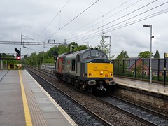 ROG Class 37884 (Liam Blundell Photography) Tags: rog railoperationalgroup class37 37884 0m37 5m36 liverpoolsouthparkway merseyside pegasus phoenix samsungnote9 samsung