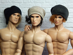 You can leave your beanies on... (Levitation_inc.) Tags: ooak doll dolls homme hommes nuface integrity toys levitation levitationfashion handmade clothes male ken hat accessories photography boys