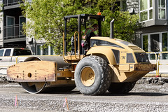 Building a solid road bed (WSDOT) Tags: seattle gp construction wsdot alaskan way viaduct replacement seventh avenue north battery street tunnel road work 2019