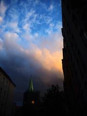 Berlin (Meg Kamiya) Tags: berlin germany deutschland dusk hauptstadt stadt city olympus omd colour light night