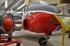 XP640 JET PROVOST ELVINGTON (toowoomba surfer) Tags: trainer aircraft aviation jet aeroplane museum airmuseum aviationmuseum raf