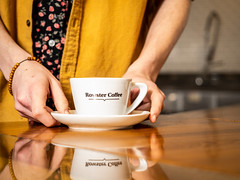Magic cup (Bryan Esler Photo) Tags: grandrapids rowster coffee caffeine espresso coffeeshop grandrapidsmagazine