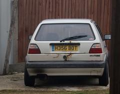 H356 BOT (Nivek.Old.Gold) Tags: 1990 volkswagen golf cl 4e 5door 1595cc