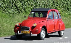 Citroën 2CV 1981 (XBXG) Tags: gx01dz citroën 2cv 1981 citroën2cv 2pk eend geit deuche deudeuche 2cv6 red rood rouge citromobile 2019 citro mobile carshow expo haarlemmermeer stelling vijfhuizen nederland holland netherlands paysbas vintage old classic french car auto automobile voiture ancienne française france frankrijk vehicle outdoor