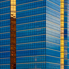 Detroit Geometry (David M Strom) Tags: abstract architecture davidstrom olympus12100 olympusem1markii reflections