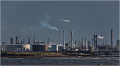 Smoke stacks (Antony Ward) Tags: teesside industry