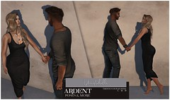 Ardent Poses - Unmistakable AD (Ardent Poses) Tags: secondlife second life sl avatar 2nd 2ndlife avi virtual vr 3d inworld poses pose ardent photography people exclusive avatars event love couple couples release new hold broderick logan ena roane enaroane bento advertisement sales ardentposes posefair fair