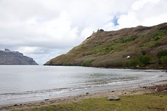 Black sand beach (jjknitis) Tags: 2019 beach cruise eurodam hollandamerica island march30 marquesas nukuhiva polynesia sand southpacific