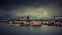 Stockholm (vanregemoorter) Tags: suede city atmosphère sky cityscape stockholm cloud