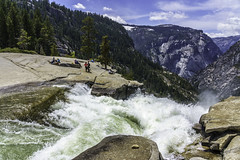 Top of Nevada Falls in Yosemite, California (ttchao) Tags: sony ilce7rm3 a7riii a7r3 24105mm fe24105mmf4goss yosemite nevadafalls waterfalls california