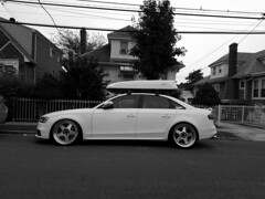 Everything has to be Audi (streetravioli) Tags: street photography bayside queens ny new york audi a4 carrier