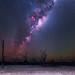 Milky Way at Yenyening Lakes - Beverley, Western Australia