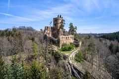 Ruins of Gutštejn Castle (The Adventurous Eye) Tags: konstantinovylázně plzeňregion czechrepublic gutštejn castle hrad ruins zřícenina medieval architecture history