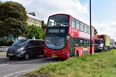 On Diversion (John A King) Tags: diversion route180 blackheath londoncentral