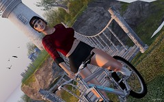 VTT (sibyl gothly666) Tags: justice session foxcity whimberly bicycle curves event