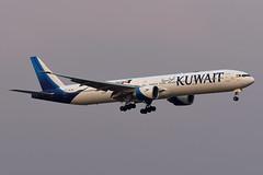Kuwait Airways Boeing 777-369(ER) 9K-AOK (Auhah livery) (EK056) Tags: kuwait airways boeing 777369er 9kaok auhah livery bangkok suvarnabhumi airport