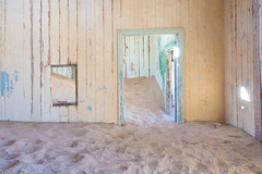 like a room without a roof (M00k) Tags: namibia kolmanskoppe abandoned mining village desert room door