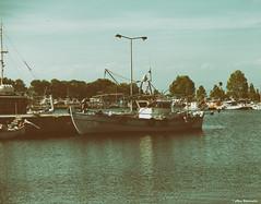 Fishing boat (akatsoulis) Tags: exploring landscape nikkor50mm14g nikond5300 fishingboat fishing portolagos lakevistonida xanthi greece macedonia thrace