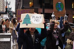 Plant Me (michael.veltman) Tags: youth climate strike protest chicago illinois