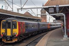 East Midlands Trains 156414 (Mike McNiven) Tags: eastmidlands trains emt stagecoach stagecoachgroup norwich nottingham deansgate manchester liverpool limestreet sprinter supersprinter diesel multipleunit dmu