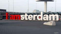 ...The Written Word... (cegefoto (Coming back slowly)) Tags: 119picturesin2019 thewrittenword iamsterdam schiphol amsterdamairport schipholairport motto slogan woord word