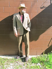 5-10-2019 Today's Clothes (Michael A2012) Tags: this mans spring style vintage fashion stetson royal deluxe open road fedora hat fur felt lands end houndstooth harris tweed handwoven wool simpsons sears us army serge cotton scarpa hiking