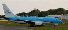 Boeing 737: 30364 PH-BGI 737-7K2(WL) KLM Newcastle Airport (emdjt42) Tags: klm phbgi newcastleairport boeing737