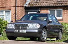 M540 DLL (Nivek.Old.Gold) Tags: 1995 mercedes e220 auto jrtagger