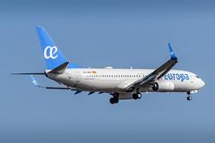 Air Europa - Boeing 737-800 [EC-MPS] at Frankfurt Airport - 01/09/18 (David Siedler) Tags: aireuropa boeing boeing737 boeing737800 ecmps frankfurtairport fraeddf