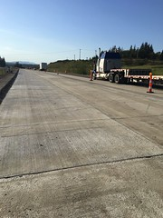 New concrete panels ready for finishing touches (WSDOT) Tags: wsdot paving i5 skagit county snohomish starbird road sr 530 concrete panels concretepanelreplacement graham construction work zone safety building vehicle ab