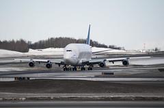 Taxiing Dreamlifter (George Baritakis) Tags: aviation boeing747 boeing alaska airplane airport travel travelblog