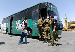 Linienbus Egged, Israel, Negevwüste, April 2012