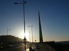 P1090100 (jesust793) Tags: torre milenio atardecer sunset coruña cielo