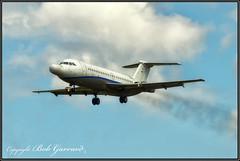 N164W Northrop Grumman - Last Flight, Low Pass (Photo #2) (Bob Garrard) Tags: n164wnorthropgrummanfinalflight lowpass bac 111401ak oneeleven 111 american airlines n5044 danair london gaxck bwi kbwi