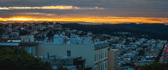 Fire In The Sky (AAcerbo) Tags: sunset sanfrancisco california widescreen cinematic light cityscape urban