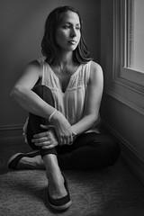 Paola at the Window (TNrick) Tags: portraits naturallight ftmyers florida woman windowlight