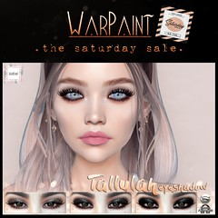 WarPaint @ TheSaturdaySale - Tallulah eyeshadow (Mafalda Hienrichs) Tags: warpaint war paint tallulah eyeshadow saturday sale promo mainstore event catwa omega