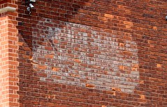 Ghost sign (Nivek.Old.Gold) Tags: ghostsign parkvilla highstreet greatdunmow essex car hire service