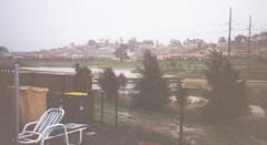 Flood on Ginninderra Ck. from Yvonne (spelio) Tags: act canberra historic rain flood catchment riparian