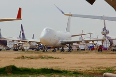 B747 B-18703 Victorville 26.03.19 (jonf45 - 5 million views -Thank you) Tags: southern california logistics airport victorville march 2019 airliner civil aircraft jet plane flight aviation boneyard scrapyard storage yard china airlines boeing 747409f b18703
