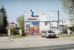 Vintage steel workshop (Mikołaj Berliński) Tags: saab 900 ugory wrzosy