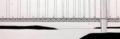 Le pont du Golden Gate San Francisco. (J-M.I) Tags: aquarelle art house architecture watercolour dessin illustration graphisme artiste exposition crayons de couleur encre chine san francisco pont golden gate
