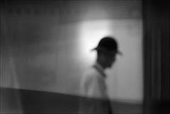 F_MG_2044-2-BW-Canon 6DII-Tamron 28-300mm-May Lee 廖藹淳 (May-margy) Tags: maymargy bw 黑白 重複曝光 逆光 街拍 線條造型與光影 天馬行空鏡頭的異想世界 心象意象與影像 台灣攝影師 幾何構圖 點人 新北市 台灣 中華民國 模糊 散景 fmg20442bw doubleexposure portrait backlighting silhouette 剪影 玻璃 glass blur bokeh humaningeometry humanelement streetviewphotography mylensandmyimagination linesformsandlightandshadow naturalcoincidencethrumylens taiwanphotographer newtaipeicity taiwan repofchina canon6dii tamron28300mm maylee廖藹淳