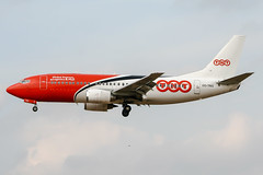 OO-TNG (PlanePixNase) Tags: aircraft airport planespotting bru ebbr brussels brüssel bruxelles zaventem tnt boeing 737300 b733 737