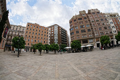 Street Architecture (Annette Rumbelow) Tags: streetarchitecture annetterumbelowwilson valencia spain fisheyelens