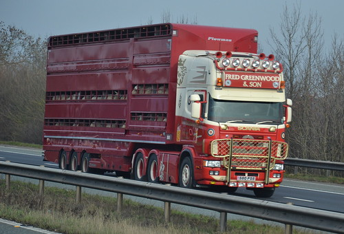 S80 FGS SCANIA of FRED GREENWOOD & SON , 22nd February 2019