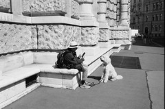 photodog_20190501 (h.m.a.t.s) Tags: street streetphotography blackandwhite analog analogphotography agfa leicam6 35mmfilm vienna bestcitytolive streetlife 35mm film filmphotography filmisalive filmisnotdead